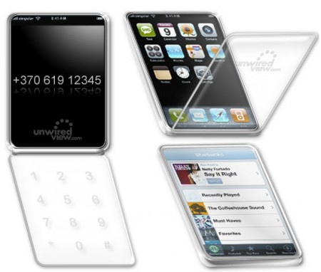 iPhone-раскладушка
