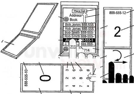 Патент: iPhone-раскладушка