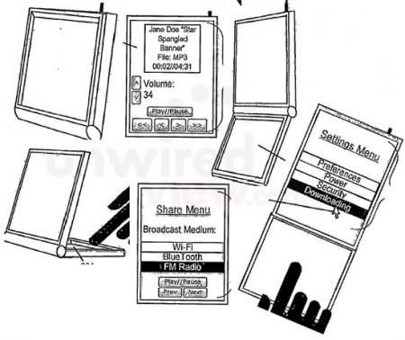 Патент: использование iPhone-раскладушки как плеера