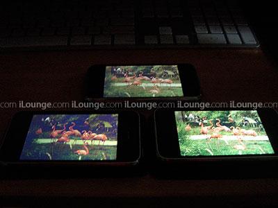Фотографии: качество экранов iPhone и iPhone 8GB/iPhone 16GB