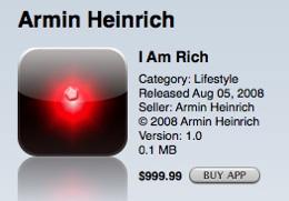 Первая программа в App Store для богатых и для дураков