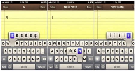 Мини-советы в работе с iPhone: Дополнительные знаки