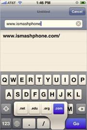 Мини-советы в работе с iPhone: Доменные зоны