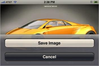 Мини-советы в работе с iPhone: изображения картинки в Safari