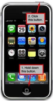 Сделать скриншот на iPhone