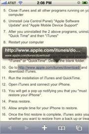 Мини-советы в работе с iPhone: Просмотр url