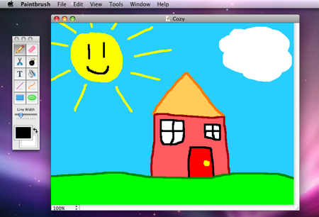 Paint для Mac — Paintbrush | Блог о Mac, iPhone, iPad, Mac OS X ...