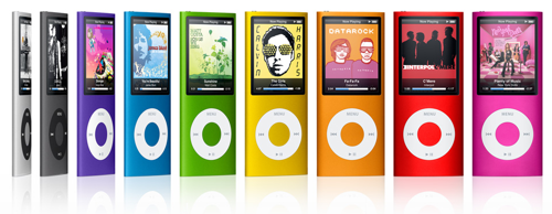 Новый mp3-плейер Apple iPod nano 4G