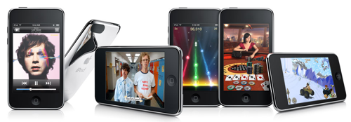 Новый mp3-плейер Apple iPod touch 2G