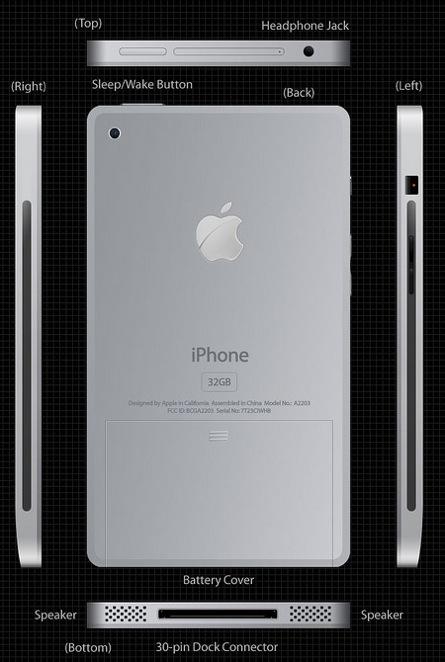 Концепт-дизайн iPhone